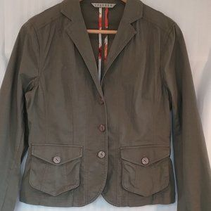 Spanner Jacket | Khaki Cotton Stretch | 8
